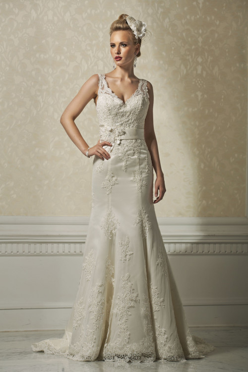 Brautkleid PL 390 ohne Gürtel