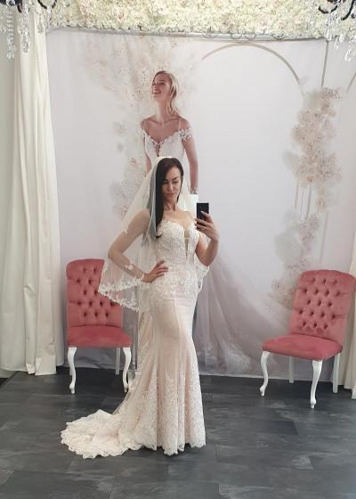 Mermaid Brautkleid Sinnlich ELEGANT/08009 726